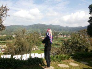 Gunung Sibayak (abaikan modelnya) :D