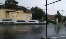 Hujan deras mengguyur