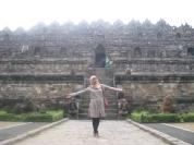 Borobudur tampak depan