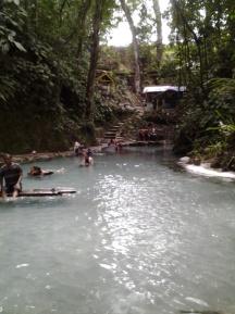 Penampakan kolam