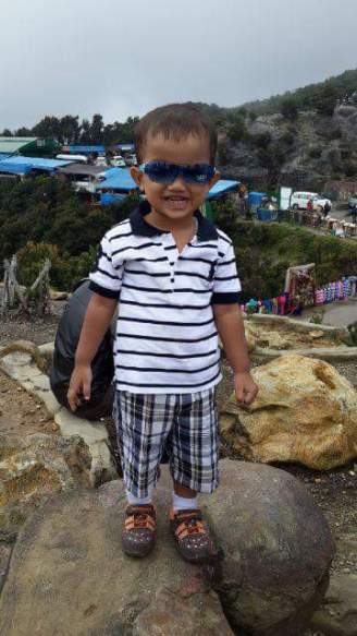 Cahyo usia 2 tahun