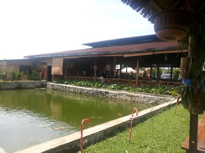 Salah satu kolam ikan