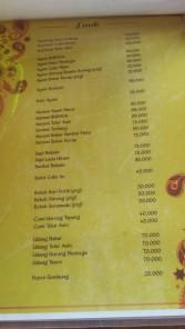 menu resto budaya
